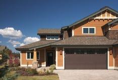 цветастый дом конструкции новый Стоковые Изображения