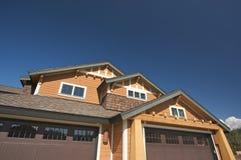 цветастый дом конструкции новый Стоковое Изображение