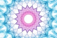 цветастый дым радуги фрактали Стоковое фото RF