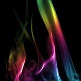 цветастый дым радуги Стоковые Фотографии RF