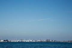 цветастый день контейнеров много переносят солнечное Стоковое Фото