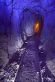 цветастый золотодобывающий рудник стоковые фотографии rf