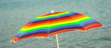 цветастый зонтик Стоковые Фото