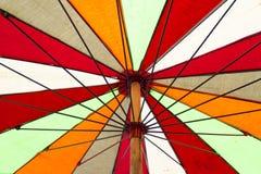 Цветастый зонтик Стоковая Фотография