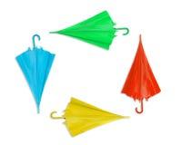 цветастый зонтик Стоковые Изображения