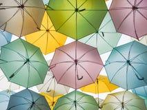 цветастый зонтик Стоковое Изображение