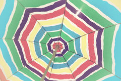 цветастый зонтик Стоковое фото RF