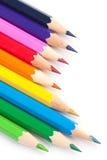 цветастый карандаш стоковое фото rf