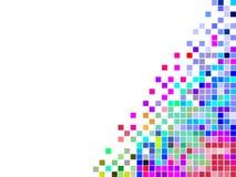 цветастый квадрат мозаики Стоковое Изображение RF