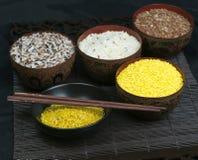 цветастый комплект риса детали Стоковое Фото