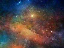 цветастый космос Стоковая Фотография