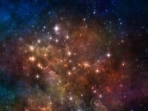 цветастый космос бесплатная иллюстрация