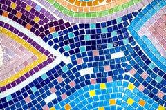 Цветастый кристаллический висок Khao Kho Phasornkaew искусства предпосылки, Phe Стоковые Фотографии RF