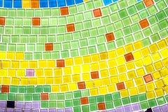 Цветастый кристаллический висок Khao Kho Phasornkaew искусства предпосылки, Phe Стоковое Изображение