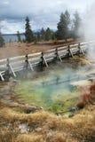 цветастый ледник yellowstone Стоковая Фотография RF