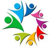 цветастый логос пар стоковые изображения rf