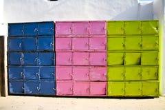 цветастый локер Греции Стоковая Фотография RF