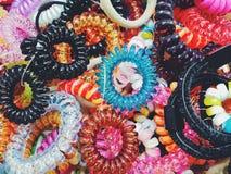 цветастый материал Стоковая Фотография RF