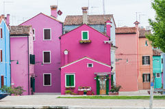 Цветастый дом Стоковое Фото