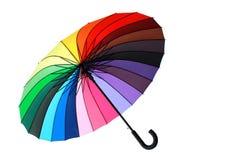 цветастый парасоль Стоковая Фотография