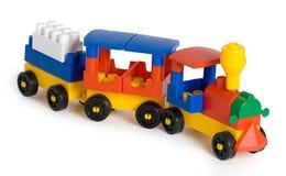цветастый поезд игрушки Стоковые Фото