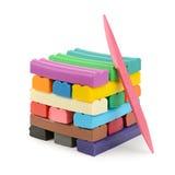 цветастый пластилин стоковая фотография rf
