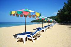 Цветастый пляж Стоковое Изображение