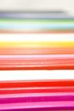 цветастый рядок карандашей Стоковая Фотография