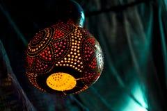 цветастый светильник Стоковое фото RF