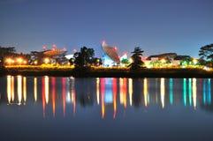 цветастый светлый резервуар отражения Стоковые Фотографии RF