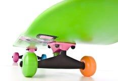 цветастый скейтборд стоковые фото