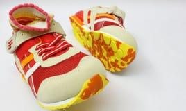 цветастый спорт ботинок стоковое изображение