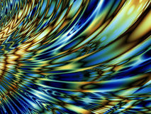 Цветастый стекловидный вентилятор иллюстрация вектора
