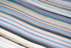 цветастый стог кассет Стоковые Фото