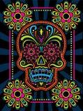 День мертвого черепа конфеты Стоковое Изображение RF