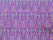Цветастый тайский шелк Стоковое Изображение RF