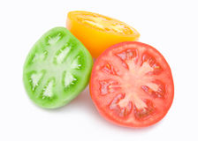 цветастый томат ломтиков Стоковая Фотография RF