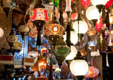 Цветастый традиционный Turkish Стоковое Изображение RF