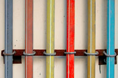 цветастый трубопровод стоковые фото