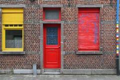 цветастый фасад Стоковая Фотография