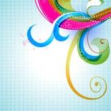 цветастый флористический вектор Стоковая Фотография RF