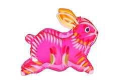 Цветастый фонарик кролика Стоковое Изображение RF
