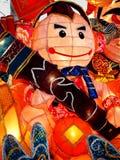 Цветастый фонарик на празднестве фонарика в Тайвани Стоковое Фото