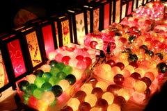 цветастый фонарик Стоковое Изображение RF