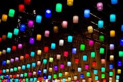 цветастый фонарик Стоковая Фотография