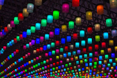 цветастый фонарик Стоковые Изображения RF