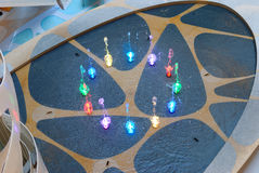цветастый фонтан Стоковая Фотография
