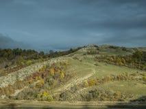 цветастый холм стоковое изображение rf