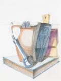 цветастый чертеж Стоковая Фотография RF