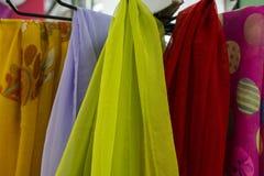 Цветастый шарф стоковая фотография